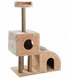 Домик для кошки с когтеточками вухуровневый Меридиан Ижевск