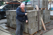 Строительство дома из арболита: Дом из арболита доставка из г.Краснодар