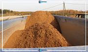 Карьерный песок с доставкой по Москве круглосуточно 24х7 в день звонка Москва